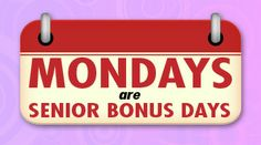 Share this with your friends and earn B Connected Social Points to enter valuable prize giveaways. Mondays in June are Senior Bonus Days    - FREE entry into $2500 Video Poker Tournament**  - 10X Points on Reels*  - 5X Video Poker*  - FREE Bingo Blue Pack***