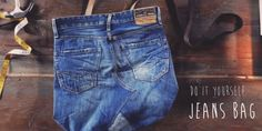 DIY JEANS BAG REPLAY TUTORIAL VIDEO