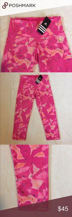 Adidas pink leggings -Brand new -size S -super cute pink color -comfortable Adidas Pants Leggings