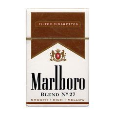 Marlboro Blend No.27 20US2003 ❤ liked on Polyvore featuring fillers, accessories, cigarettes, smoke, extras, backgrounds, text, quotes, saying and phrase