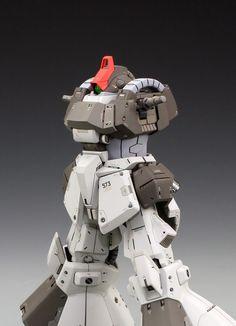 GUNDAM GUY: MG 1/100 RMS-009 Rick Dias Shin Matsunaga Custom - Custom Build