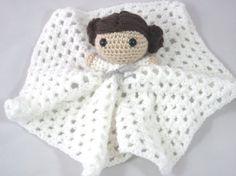 Princess Leia Lovey Star Wars Crochet Chibi by TheSpaceNeedle