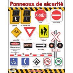 Panneaux de sécurité.