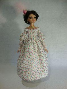 OOAK 1830's OUTFIT FOR ELLOWYNE WILDE by pickedfrommarysgarden via eBay, SOLD 8/25/14  3 bids  $155.00 (buyer 3***l)