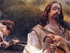 Christ and theSamaritan Woman - Jacek Malczewski