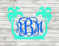 Jazz it up with a Palm Tree Decal for your car or personal belongings. Perfect…