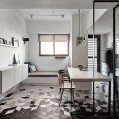 Apartamento sencillo y contemporáneo