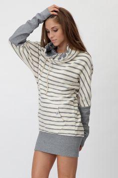 hoodie dress Stripie Lite www.lull.sk