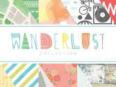#papercraft #CHAWinter2014 #SneakPeeks: #Papercrafting Product Release: Studio Calico – Wanderlust