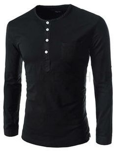 Buy 'THELEESSHOP – Slim-Fit Cotton Henley' with Free International Shipping at YesStyle.com. Browse and shop for thousands of Asian fashion items from South Korea and more!
