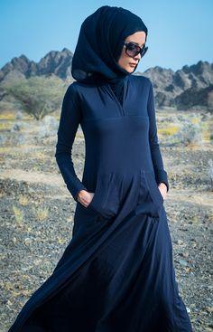Cozy Navy Abaya #Aab #aab #NewArrivals #WhatsNew #Everyday #Quilted #Cosy #Fashion #Style #Abaya #Hijab