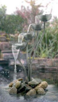 fountains would love this in the pond that I want.