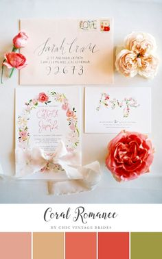 This floral wedding stationery is so romantic. Invitation Paper, Floral Invitation, Floral Wedding Invitations, Wedding Stationary, Invitation Design, Invitation Suite, Watercolor Invitations, Invites, Wedding Paper
