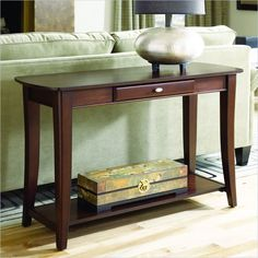 Hammary Enclave Sofa Table in Sable - T2079289-00 - Lowest price online on all Hammary Enclave Sofa Table in Sable - T2079289-00