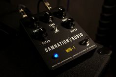 !!!This pedal is complete and ready for immediate sale!!!    Thanks for taking the time to look at my listing for the Damnation Audio MBD-1 MOSFET Bass Distortion. It is a great bass preamp, boost, overdrive, distortion, and fuzz for bass guitar. I designed it to help me get a great distort...