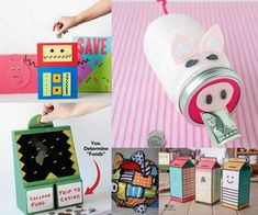 What better way to teach your kids about money management than by giving them a piggy bank? Here are some creative piggy banks your kids will love. These piggy banks will serve as a teaching tool for fiscal responsibility.
