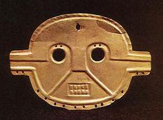 Mascara asociada al jaguar - Cultura Calima Colombia
