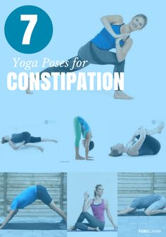 Constipation. No one likes talking about it, and more importantly, no one likes feeling it. But did you know that exercise helps? Specifically, these 7 yoga poses will get things moving – and fast. | Yuri Elkaim