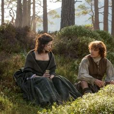 """"""" Outlander music: Claire discusses her impending marriage with the bridegroom-to-be; end theme, 1x06 """""""