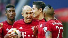 Bayern - Stuttgart 4:0: Robben macht es mit dem Bauch! - Bundesliga Saison 2015/16 - Bild.de