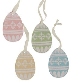 Sweet Easter Egg Ornaments