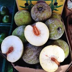 #Breadfruit in Golborne Road market. Pop by Thursday until 1pm or all day Friday & Saturday and tell Ben we sent you ;-)
