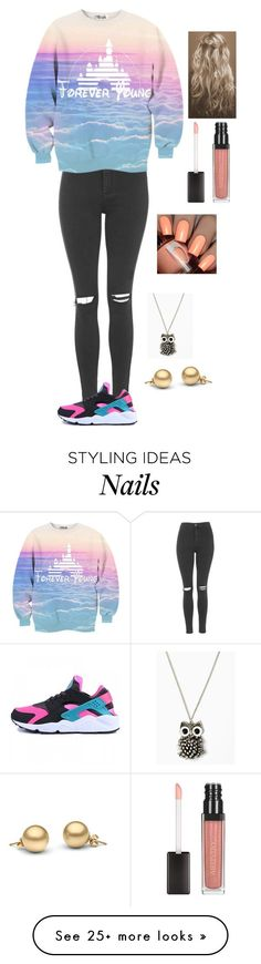 """school"" by llonedirectionlover1124ll on Polyvore featuring Topshop and NIKE"