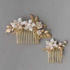 "159 Likes, 12 Comments - TANIA MARAS (@taniamarasbridal) on Instagram: ""Inspired by the beauty of wild roses  #bridalaccessories #weddings #haircomb #bridalcomb #hair…"""