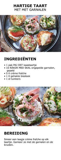 Inspiratie voor het rivierkreeftenfeest - Hartige taart met kaviaar | #IKEA #IKEAnl #inspiratie #keuken #koken #feest #rivierkreeft #kreeft #Zweeds #traditie #kaastaart #bieslook #garnalen #gerecht #hapje