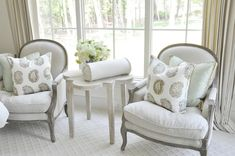 my family room chairs... love the table