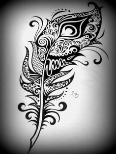 Custom Ink Drawing Black & White Commissioned Artwork by tarren, $56.00