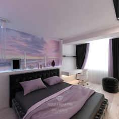 Bedroom Color Schemes, Bedroom Colors, Bedroom Decor, Asian Interior, Home Interior Design, Small Room Bedroom, My Room, Design Scandinavian, Girl Bedroom Designs