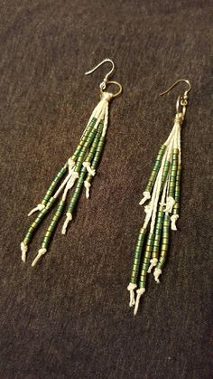 Check out this item in my Etsy shop https://www.etsy.com/listing/549377496/hemp-and-glass-bead-earrings