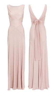 Millie Mackintosh's Wedding: The 'Chelsea' Boudoir Pink Bridesmaids Dress, £195 | Look