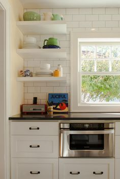 Getting Inspired: Open Shelves in the Kitchen