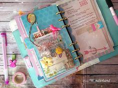 Lucy-Wonderland: Personalizziamo l'agenda_ il divisorio con taschina