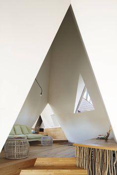 Nasu Tepee by Hiroshi Nakamura & NAO Co  Tipi Houses in the Woods – Fubiz Media