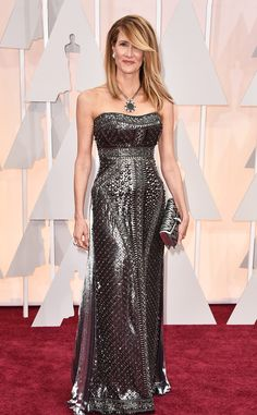 Laura Dern from 2015 Oscars: Red Carpet Arrivals | E! Online