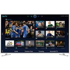 """Buy Samsung UE48H6410 LED HD 1080p 3D Smart TV, 48"""" with Freeview HD Online at johnlewis.com"""