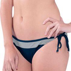 Women's Navy Blue Dallas Cowboys Grand Slam Bikini Bottom
