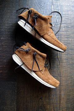 Visvim. #sneakers : these look absolutely comfortable and another will be casual enough to go grocery shopping or run any type of personal errands I would have.
