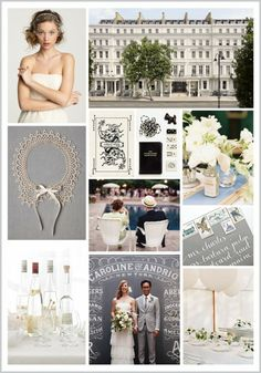 Between the London Olympics, the Diamond Jubilee, and Downton Abbey, we've got Great Britain on the brain. This slate, white, & cream color palette is inspired by one of our favorite London neighborhoods