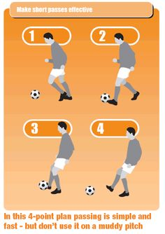 Coaching tips for players short passing skills Soccer Passing Drills, Football Coaching Drills, Football Workouts, Volleyball Tips, Soccer Tips, Soccer Stuff, Golf Tips, Ohio State Football, American Football