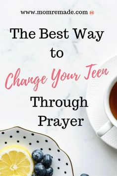 Do you want to change your teenager? Are you frustrated with your teen's behavior? Keep up the good work, but add prayer to your parenting and you will see changes. God will not only change your teenager, but He will change you too. Praying For Your Children, Prayers For Children, Prayers For Teenagers, Parenting Teens, Parenting Advice, Parenting Styles, Parenting Quotes, Mantra, Teen Attitude