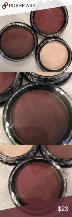 Eyeshadows. Moon Beam, Mulberry Satin, Wine Eyeshadows B98 Moon Beam, B70. Mulberry Satin. And B102 Wine.  Made  in USA. Approximately 0.064 oz (1.8 g).  Talc & Paraben Free.  Never been used. Makeup Eyeshadow