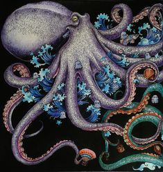#Animorphia #octopus