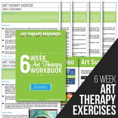 Anxiety Art Therapy Exercises