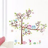 Found it at Wayfair.ca - Friendly Who is Who in the Tree Wall Decal