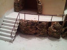 Per un paese civile: dicembre 2011 Christmas Crib Ideas, Firewood, Miniatures, Hobby, Crafts, Diy, Portal, Mario, Craft