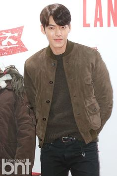 Kim Woo Bin goes casual for Kinky Boots VIP red carpet